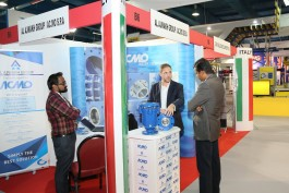 ACMO Exhibition Stand at Infra Oman, Muscat