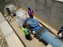 ACMO Valve Installation at Wadi Adai Amerat Pumping Station