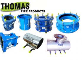 Mechanical Couplings - Thomas Pipe Products